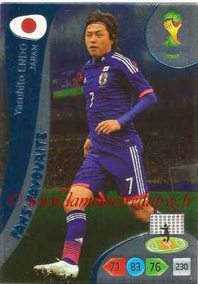 2014 - Panini FIFA World Cup Brazil Adrenalyn XL - N° 343 - Yasuhito ENDO (Japon) (Fan's favorite)