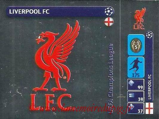 2014-15 - Panini Champions League N° 011 - Logo Liverpool FC