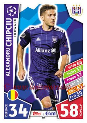 2017-18 - Topps UEFA Champions League Match Attax - N° 286 - Alexandru CHIPCIU (RCS Anderlecht)