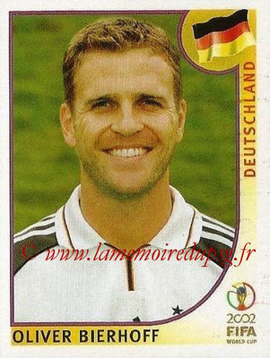 2002 - Panini FIFA World Cup Stickers - N° 330 - Oliver BIERHOFF (Allemagne)