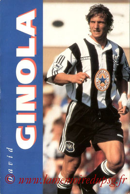 1996-03-xx - David Ginola (Editions du sport, 51 pages)