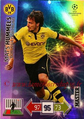 2012-13 - Adrenalyn XL champions League N° 332 - Mats HUMMELS (Borussia Dortmund) (Master)