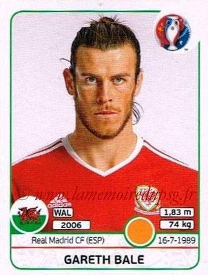 Panini Euro 2016 Stickers - N° 195 - Gareth BALE (Pays de Galles)