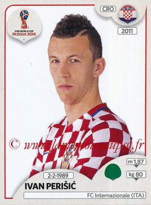 2018 - Panini FIFA World Cup Russia Stickers - N° 331 - Ivan PERISIC (Croatie)