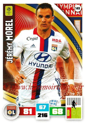 2016-17 - Panini Adrenalyn XL Ligue 1 - N° 149 - Jérémy MOREL (Lyon)
