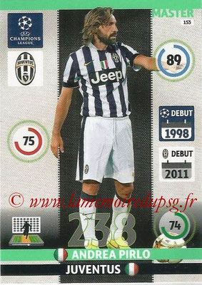 2014-15 - Adrenalyn XL champions League N° 153 - Andrea PIRLO (Juventus FC) (Master)