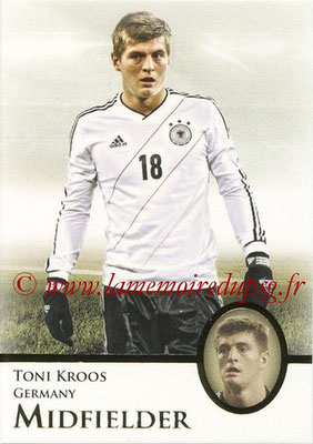 2013 - Futera World Football Unique - N° 045 - Toni KROOS (Allemagne) (Midfielder)