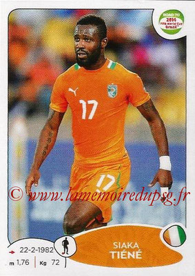 2014 - Panini Road to FIFA World Cup Brazil Stickers - N° 386 - Siaka TIENE (Côte d'Ivoire)