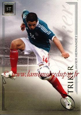 2014 - Futera World Football Unique - N° 072 - Javier HERNANDEZ (Striker)