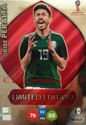 2018 - Panini FIFA World Cup Russia Adrenalyn XL - N° LE-OP - Oribe PERALTA (Mexique) (Limited Edition)
