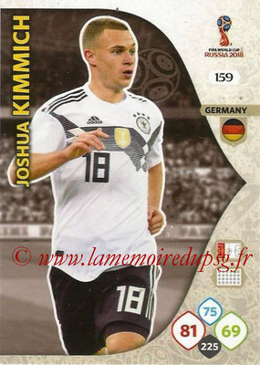 2018 - Panini FIFA World Cup Russia Adrenalyn XL - N° 159 - Joshua KIMMICH (Allemagne)