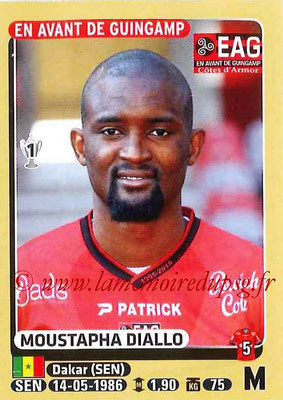 2015-16 - Panini Ligue 1 Stickers - N° 135 - Moustapha DIALLO (EA Guingamp)