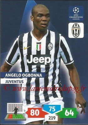 2013-14 - Adrenalyn XL champions League N° 146 - Angelo OGBONNA (Juventus FC)