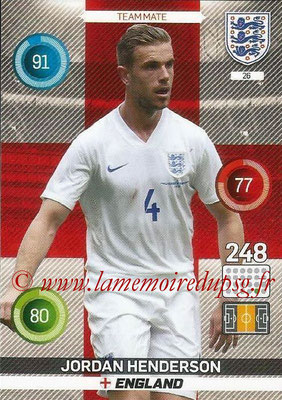 Panini England 2016 Adrenalyn XL - N° 026
