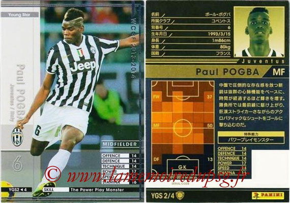 2013-14 - WCCF - N° YGS2 - Paul POGBA (Juventus FC) (Young Star)