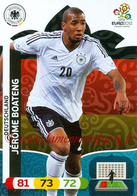 Panini Euro 2012 Cards Adrenalyn XL - N° 026 - Jerome BOATENG (Allemagne)