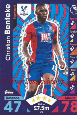 2016-17 - Topps Match Attax Premier League - N° 090