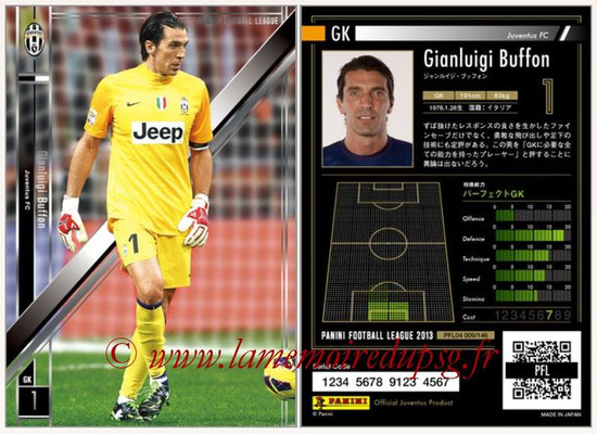 Panini Football League 2013 - PFL04 - N° 009 - Gianluigi BUFFON (Juventus FC)