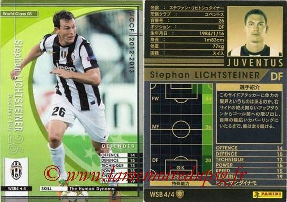 2012-13 - WCCF - N° WSB4 - Stephan LICHTSTEINER (Juventus FC) (World Class SB)