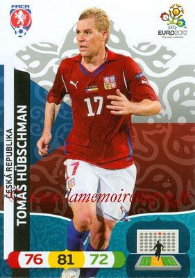 Panini Euro 2012 Cards Adrenalyn XL - N° 009 - Tomas HÜBSCHMAN (République Tchèque)