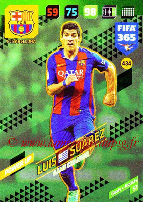 2017-18 - Panini FIFA 365 Cards - N° 434 - Luis SUAREZ (FC Barcelone) (Game Changer)