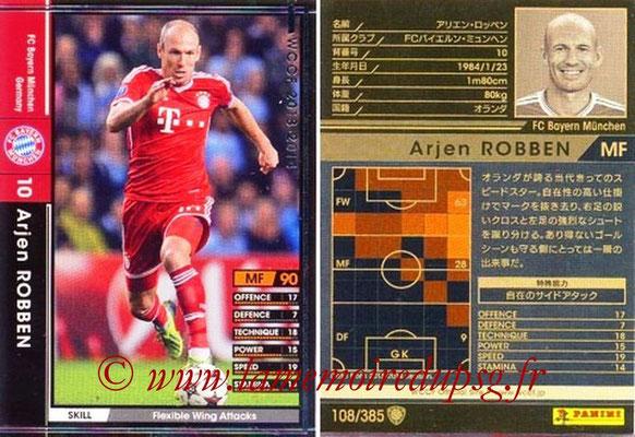2013-14 - WCCF - N° 108 - Arjen ROBBEN (FC Bayern Munich)