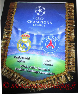 Grand Fanion  PSG-Real Madrid  2015-16
