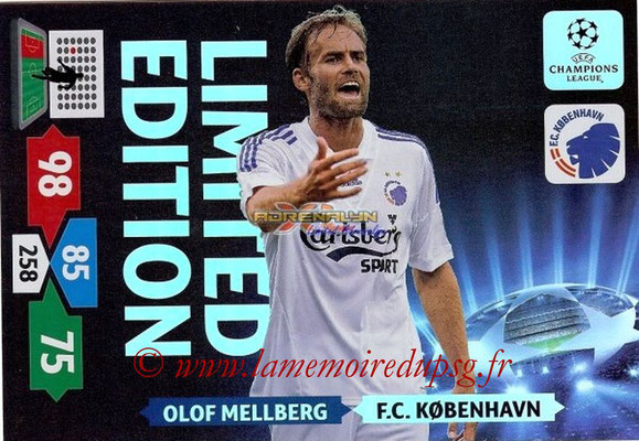 2013-14 - Adrenalyn XL champions League N° LE32 - Olof MELLBERG (FC Copenhague) (Limited Edition)