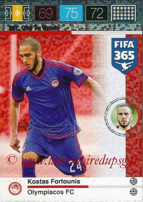 2015-16 - Panini Adrenalyn XL FIFA 365 - N° 207 - Kostas FORTOUNIS (Olympiacos FC) (One to Watch)