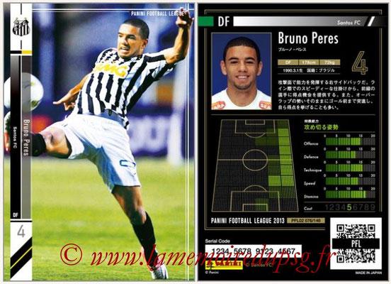 Panini Football League 2013 - PFL02 - N° 076 - Bruno Peres ( Santos FC )