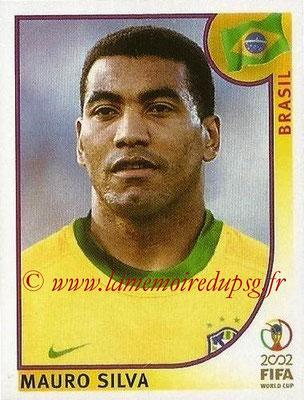 2002 - Panini FIFA World Cup Stickers - N° 179 - Mauro SILVA (Brésil)