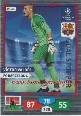 2013-14 - Adrenalyn XL champions League N° 319 - Victor VALDES (FC Barcelona) (Goal Stopper)
