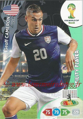 2014 - Panini FIFA World Cup Brazil Adrenalyn XL - N° 318 - Geoff CAMERON (Etats-Unis) (Utility Player)