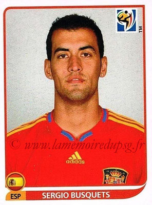 2010 - Panini FIFA World Cup South Africa Stickers - N° 571 - Sergio BUSQUETS (Espagne)