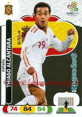 Panini Euro 2012 Cards Adrenalyn XL - N° 069 - Thiago ALCANTARA (Espagne) (Rising Star)