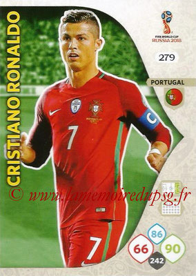 2018 - Panini FIFA World Cup Russia Adrenalyn XL - N° 279 - Cristiano RONALDO (Portugal)