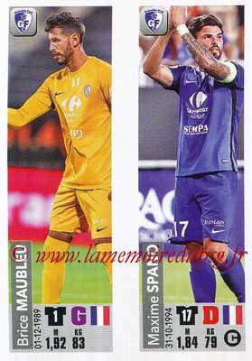 2018-19 - Panini Ligue 1 Stickers - N° 531 - Brice MAUBLEU + Maxime SPANO (Grenoble Foot 38)