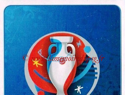 Panini Euro 2016 Stickers - N° 001 - Logo officiel UEFA 2016  1