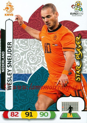 Panini Euro 2012 Cards Adrenalyn XL - N° 141 - Wesley SNEIJDER (Pays-Bas)