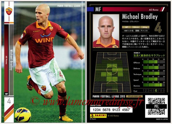 Panini Football League 2013 - PFL03 - N° 029 - Michael Bradley (AS Roma)