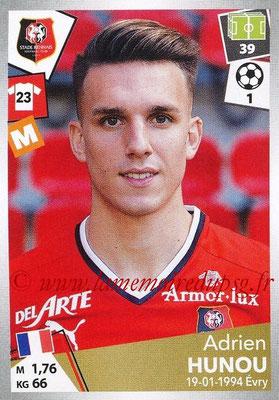 2017-18 - Panini Ligue 1 Stickers - N° 403 - Adrien HUNOU (Rennes)