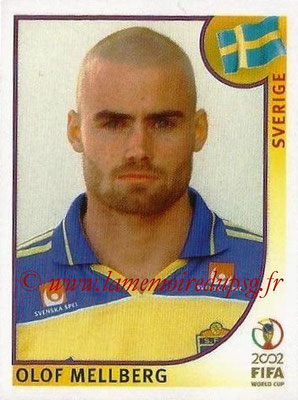 2002 - Panini FIFA World Cup Stickers - N° 442 - Olof MELLBERG (Suede)