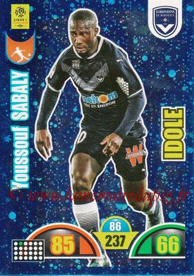 N° 365 - Youssouf SABALY (2013-17, PSG > 2018-19, Bordeaux) (Idole)