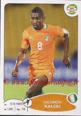 2014 - Panini Road to FIFA World Cup Brazil Stickers - N° 395 - Salomon KALOU (Côte d'Ivoire)