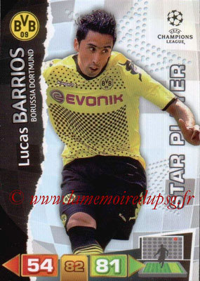 2011-12 - Panini Champions League Cards - N° 079 - Lucas BARRIOS (Borussia Dortmund) (Star Player)