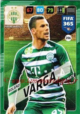 2017-18 - Panini FIFA 365 Cards - N° 206 - Rolan VARGA (Ferencvaros TC)