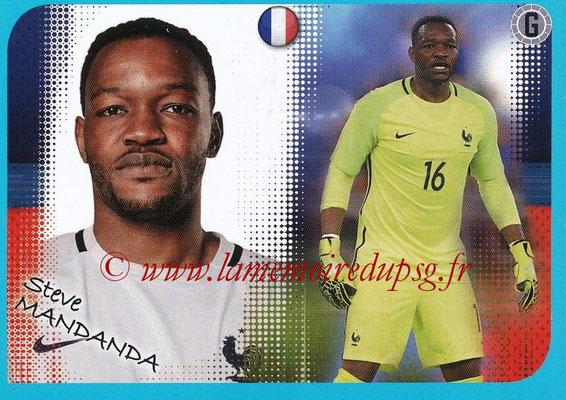 2016-17 - Panini Ligue 1 Stickers - N° P02 - Steve MANDANDA (Poster Equipe de France)