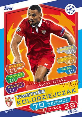 2016-17 - Topps UEFA Champions League Match Attax - N° SEV7 - Timothee KOLODZIEJCZAK (FC Seville) (Away Goal)