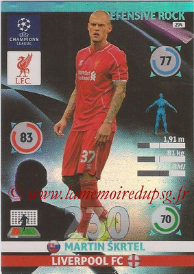 2014-15 - Adrenalyn XL champions League N° 294 - Martin SKRTEL (Liverpool FC) (Defensive Rock)