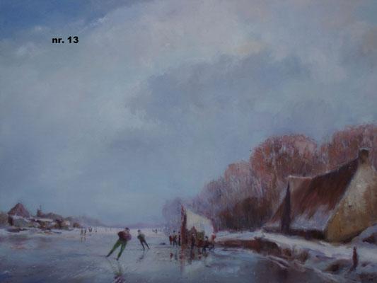 nr. 13 Koek en Zopie-tentje op het ijs